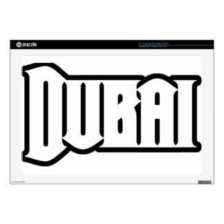 "Rep Ya Hood  Custom Dubai, UAE 17"" Laptop Decals"