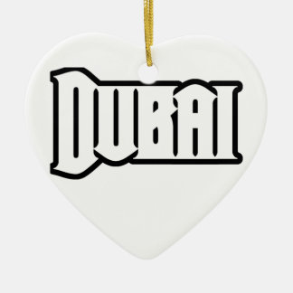 Rep Ya Hood  Custom Dubai, UAE Ceramic Ornament