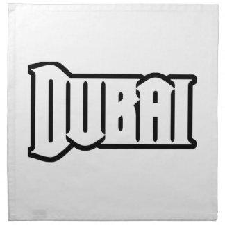 Rep Ya Hood  Custom Dubai, UAE Cloth Napkins