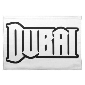 Rep Ya Hood  Custom Dubai, UAE Cloth Placemat