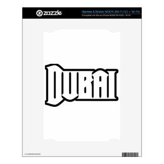 Rep Ya Hood  Custom Dubai, UAE Decals For The NOOK