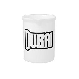 Rep Ya Hood  Custom Dubai, UAE Drink Pitcher