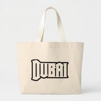 Rep Ya Hood  Custom Dubai, UAE Jumbo Tote Bag