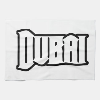 Rep Ya Hood  Custom Dubai, UAE Kitchen Towel