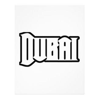Rep Ya Hood  Custom Dubai, UAE Letterhead