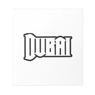 Rep Ya Hood  Custom Dubai, UAE Memo Note Pad