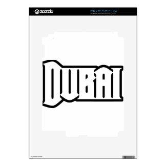 Rep Ya Hood  Custom Dubai, UAE Decals For The iPad 2
