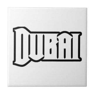 Rep Ya Hood  Custom Dubai, UAE Small Square Tile