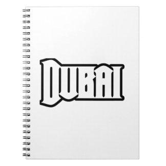 Rep Ya Hood  Custom Dubai, UAE Spiral Note Book