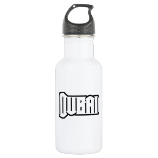 Rep Ya Hood  Custom Dubai, UAE Water Bottle