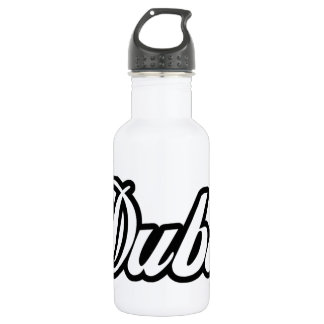 Rep Ya Hood Custom Dubai Water Bottle