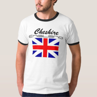 Rep Ya Hood Custom England, Cheshire T-Shirt