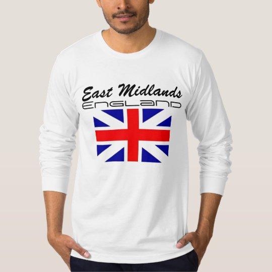 Rep Ya Hood Custom (England) East Midlands T-Shirt