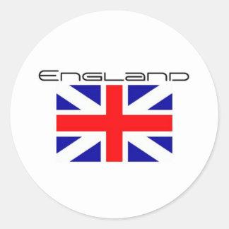 rep_ya_hood_custom_england_hat-d148629517071595742 classic round sticker