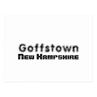 Rep Ya Hood Custom Goffstown, New Hampsire Postcard