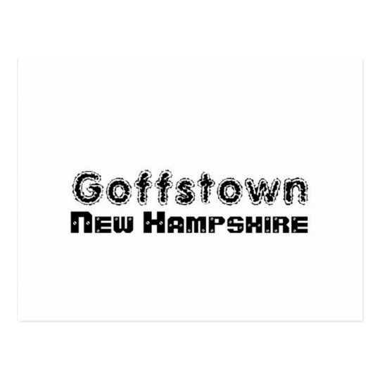 Rep Ya Hood Custom Goffstown, New Hampsire Postcard