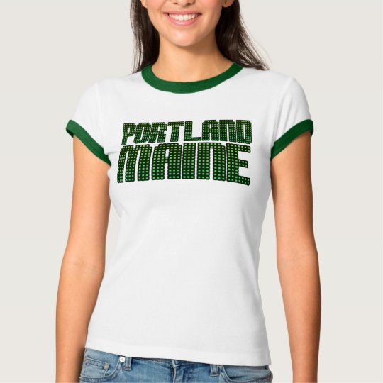 Rep Ya Hood Custom  maine T-Shirt