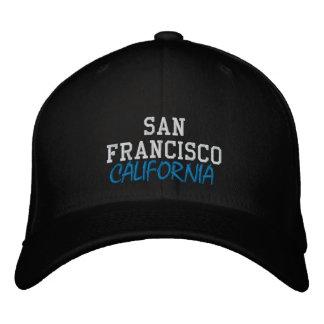 REP YA HOOD CUSTOM SAN FRANCISCO, CALIFORNIA EMBROIDERED BASEBALL HAT