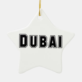 Rep Ya Hood Custom United Arab Emirates, Dubai Ceramic Ornament