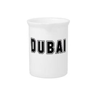 Rep Ya Hood Custom United Arab Emirates, Dubai Drink Pitcher