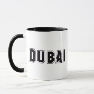 Rep Ya Hood Custom United Arab Emirates, Dubai Mug