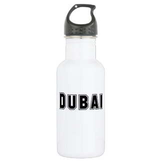 Rep Ya Hood Custom United Arab Emirates, Dubai 18oz Water Bottle