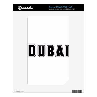 Rep Ya Hood Custom United Arab Emirates, Dubai Skin For NOOK Color