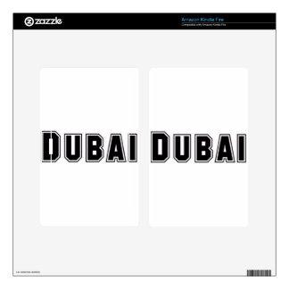 Rep Ya Hood Custom United Arab Emirates, Dubai Kindle Fire Decals