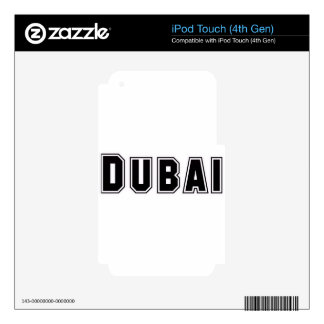 Rep Ya Hood Custom United Arab Emirates, Dubai Skin For iPod Touch 4G