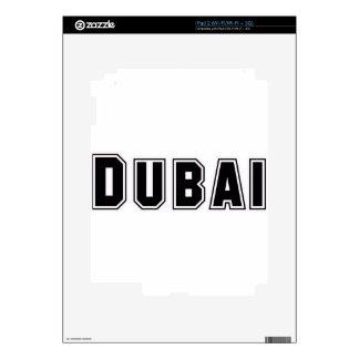 Rep Ya Hood Custom United Arab Emirates, Dubai iPad 2 Decal