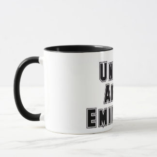 Rep Ya Hood  Custom United Arab Emirates Mug