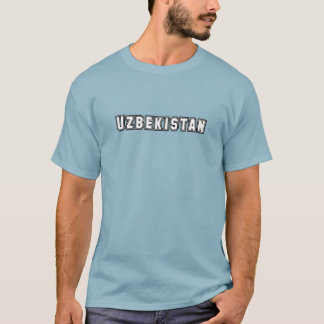 Rep Ya Hood Custom Uzbekistan T-Shirt