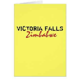 Rep Ya Hood Custom Victora Falls, Zimbabwe Card
