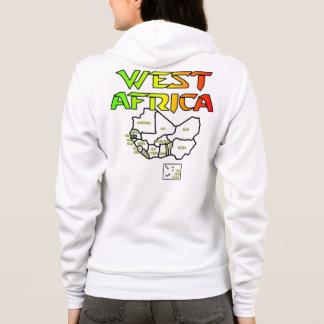 Rep Ya Hood Custom West Africa Hoodie