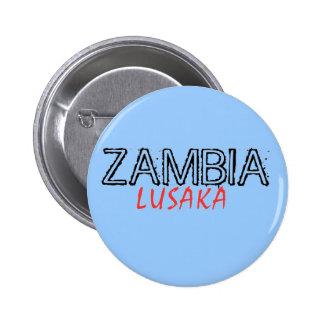 Rep Ya Hood Zambia Custom 2 Inch Round Button