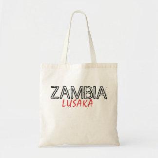 Rep Ya Hood Zambia Custom Budget Tote Bag
