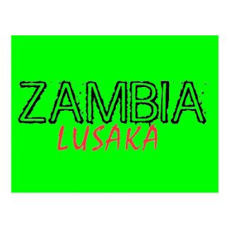 Rep Ya Hood Zambia Custom Postcard