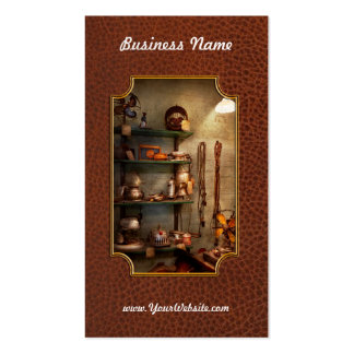 Repair - In the corner of a repair shop Double-Sided Standard Business Cards (Pack Of 100)