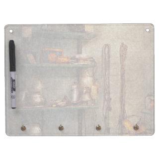 Repair - In the corner of a repair shop Dry Erase Boards