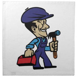 Repair Man Napkin