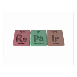 Repair-Re-Pa-Ir-Rhenium-Protactinium-Iridium.png Postcard