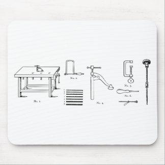 Repair Schematics Design Mouse Pad