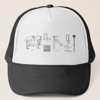 Repair Schematics Design Trucker Hat