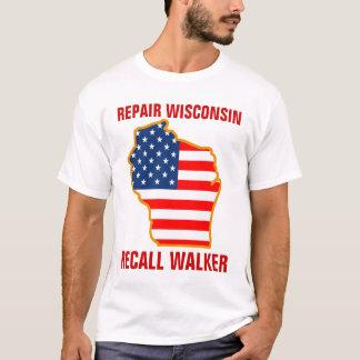 Repair Wisconsin, Recall Walker T-Shirt