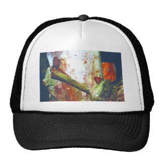 Repaired Heart Mesh Hats