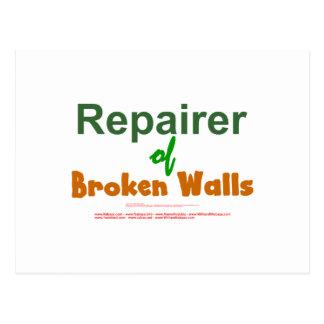 Repairer of Broken Walls - Isaiah 58:12 Postcard