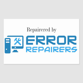 Repairered by Error Repairers Sticker