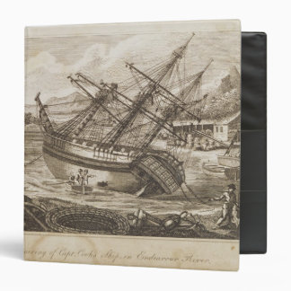 Repairing of Captain Cooks ship Binder