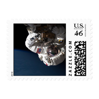 Repairing Space Station Postage