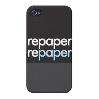 """""""Repaper Repaper """" iPhone 4 Carcasa"""